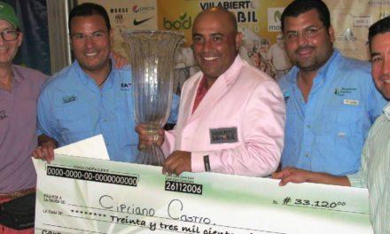 Cipriano Castro es el Campeón del VIII Abierto Sambil de Golf