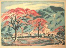 """""""Campos de golf - Caracas Country Club"""". Zelma Dale, 1952 (f. Archivo Fundación de la Memoria Urbana"""