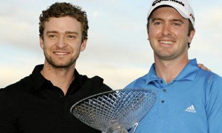 Timberlake Embajador  del Equipo Estadounidense en la Copa Ryder