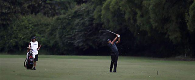 José Luis Gil por el título del Campeonato Nacional PGA de Caddies 2012