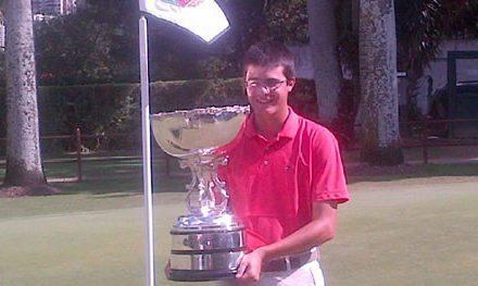 Gustavo Morantes Campeón Amateur de Venezuela