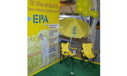 Por 5to año seguido se abre el Centro de Práctica y Exhibición de Golf EPA en el Sambil Maracaibo
