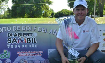 Alfredo Adrián campeón del IX Abierto Sambil de Golf