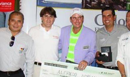 Aragüeño Alfredo Adrián se llevó el Abierto Sambil de Golf en el Maracaibo Country Club