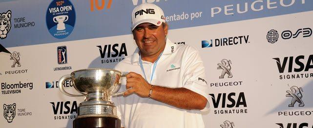 Cabrera mostró su jerarquía en el cierre del PGA TOUR Latinoamérica