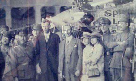 """Lindbergh: el """"Águila Solitaria"""" aterrizó en Caracas"""