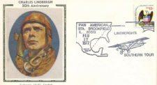 """Lindbergh: el """"Águila Solitaria"""" aterrizó en Caracas (cortesía letstalkstamps.blogspot.com)"""