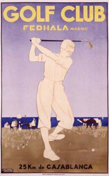 Golf Club Fedhala Maroc
