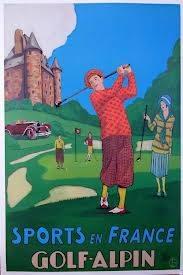 Sports en France Golf Alpin