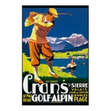 Crans Sierre Golf Alpin