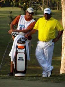 JC Berastegui (Caddie-Pro) & Miguel Martínez (1er día)