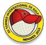 XII Torneo Internacional de Golf Menores 2013