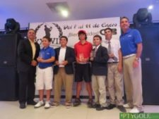 Campeonato Centroamericano Infanto-Juvenil 2013. Costa Rica con Copa de Naciones