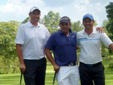 William Espinoza, Antonio Lasso y Wilman Beltran
