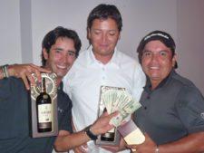 Wilson Ospina, Mauricio Henao y Jorge Rodríguez