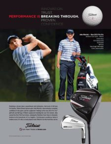 Performance de Titleist es celebrar el domingo