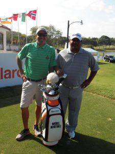 Miguel Martínez & J.C. Berastegui (Caddie Pro)