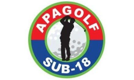 Ranking General Juvenil Infantil de Golf APAGOLF Sub18 2012