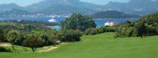 Amanecer del Golf en Italia (cortesía www.golfclubpevero.com)