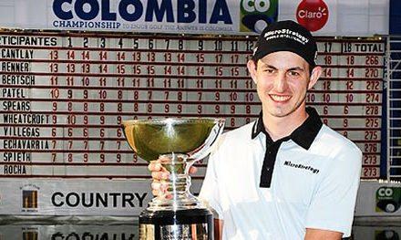 Cantlay hace historia ganando el Colombia Championship