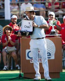 Ron Garl, el Dibujo de la tierra con golf