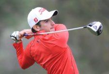 El argentino Julián Etulain en acción esta mañana en el Club de Golf México durante la primera ronda del 55º Abierto Mexicano de Golf. El torneo es el primero de los quince que integran en el calendario de la temporada 2013 del PGA TOUR Latinoamérica. Crédito: Enrique Berardi/PGA TOUR