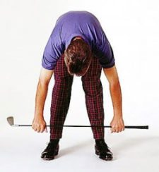 Golf stretching (cortesía sportsmedicine.about.com)