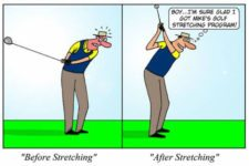 Golf stretching (cortesía.sportsmedicine.about.com)