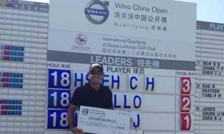 Wollmer gana puesto al Volvo China Open