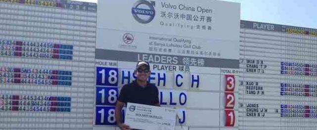 Wollmer gana puesto al Volvo China Open