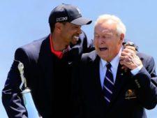 Tiger & Arnold Palmer (cortesía www.usatoday.com)