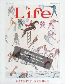 LIFE Magazine 1924-07-10/ Número Olímpico