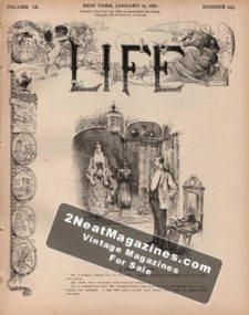 LIfe Magazine 1887-01-27