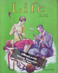 LIFE Magazine 1926-04-29