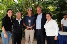 Gustavo León gana de punta a punta con -10 en el Abierto Amateur FVG en LCC