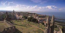 Ruinas de la Catedral de St. Andrews (cortesía kingdomcomescotland.wordpress.com)