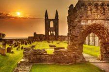 Ruinas de la Catedral de St. Andrews (cortesía standrews2016.tumblr.com)