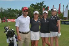 Equipo Femenino Venezuela Sudamericano Juvenil 2013 & Coach Daniel Escalera