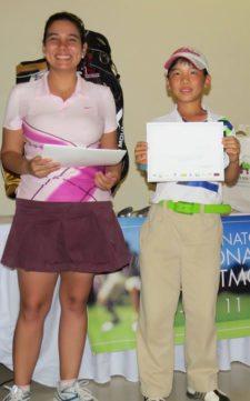 Dayana Vásquez y Juan Pablo Ng (Campeón Gross Cat E)