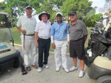 Didio Rodríguez (Campéon Neto Senior), Kevin Bradley, Alex Daryanani y Robin Morland
