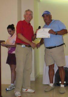 Roberto Vallarino y Juan José García (Subcampeón Neto Cat E)