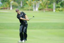 Punta Cana, República Dominicana (Mayo 29, 2013) – El chileno Nicolás Geyger durante la primera ronda del Dominican Republic Open 2013 en el Hard Rock Golf Club at Cana Bay la mañana de este miércoles en Punta Cana, República Dominicana. Crédito: Enrique Berardi/PGA TOUR