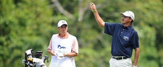 Jesús Asmed Osmar y Manuel Inman, los primeros líderes del 66° Arturo Calle Colombian Open