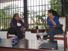Marybel Guzmán y Dayana Vásquez