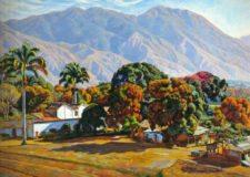 Cabré pintaba desde el Caracas Country Club (cortesía bp.blogspot.com)
