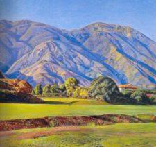 Cabré pintaba desde el Caracas Country Club (coresía bp.blogspot.com)