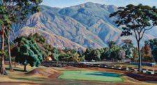 El Ávila desde el Country Club. Hoyo 9 (1946) Óleo sobre tela (66 x 125 cm) Colección Bco. Cenrtal de Venezuela