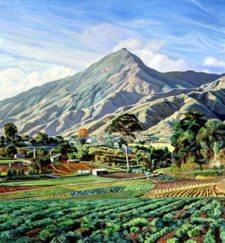 Cabré pintaba desde el Caracas Country Club