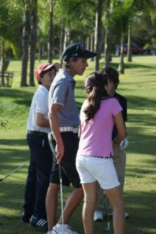 """""""El golf menor demanda equilibrio"""""""
