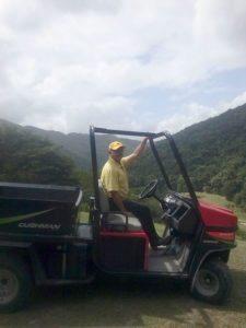 Jaime Álvarez en el Izcaragua Country Club